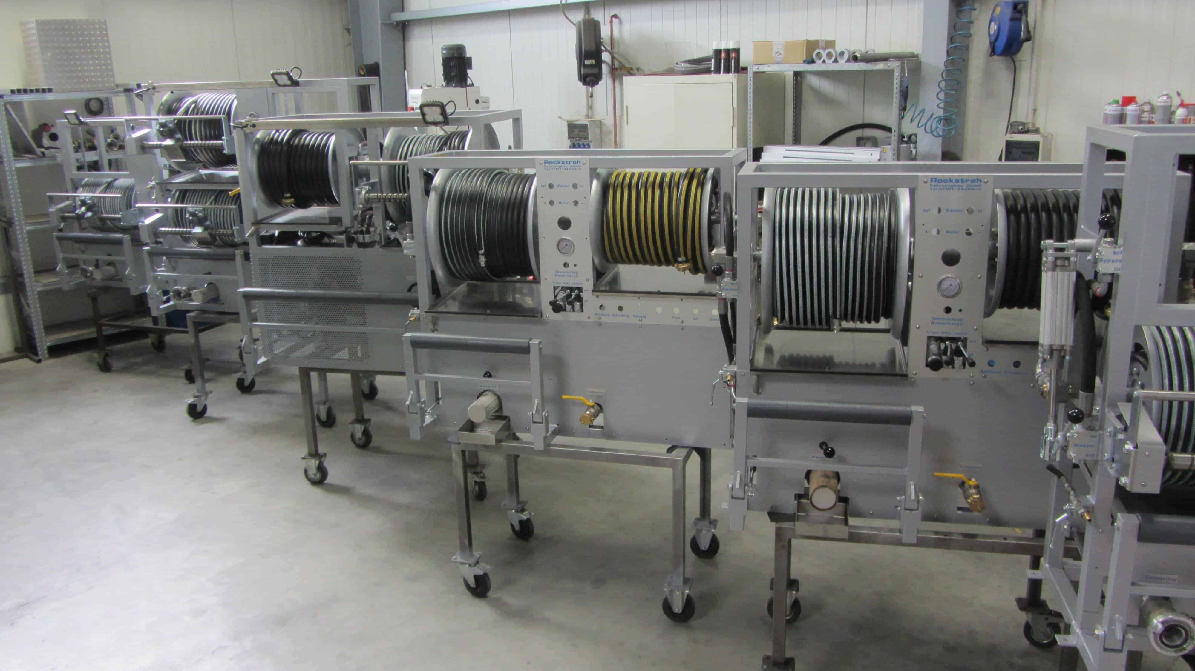 Fertigung Hochdruckspüler